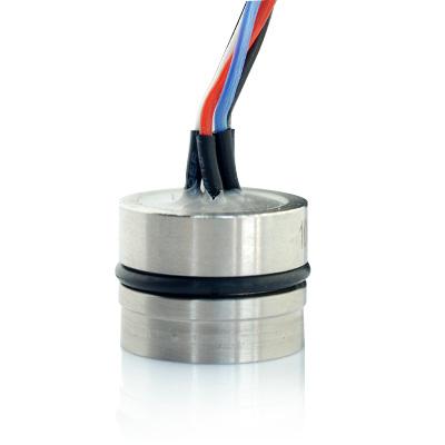 piezoresistive pressure transducer capsule
