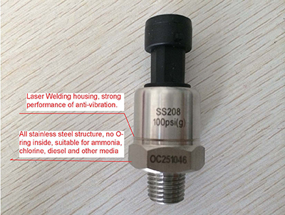 stainless steel pressure sensors