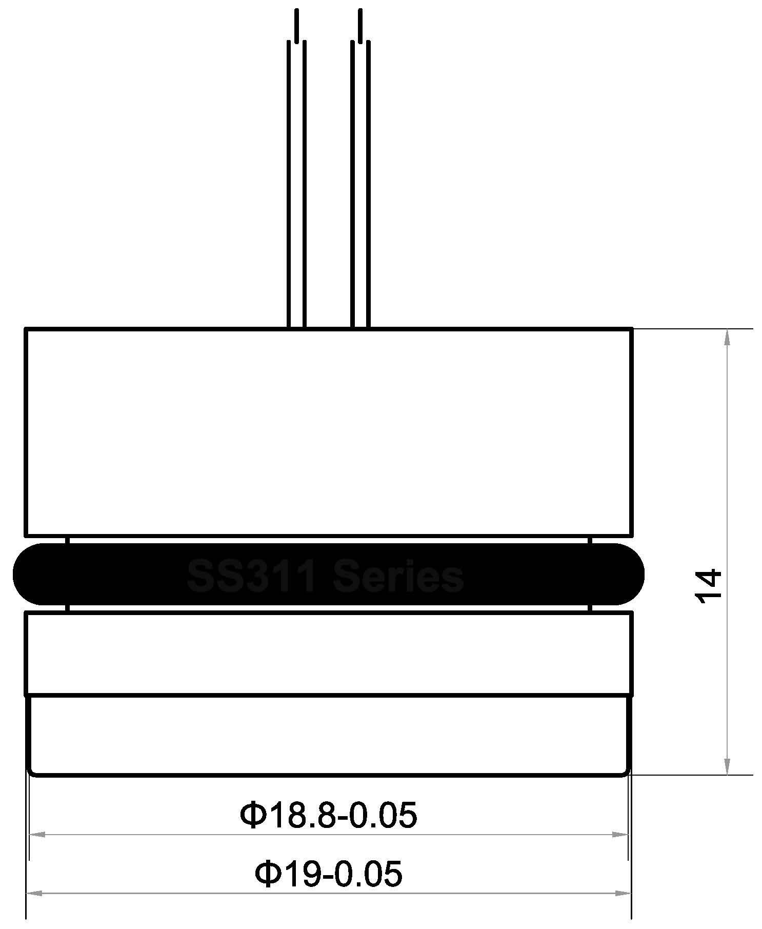 4-20 mA piezoresistive Drucksensor - Sendo Sensor