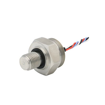 Miniature flush pressure transducers