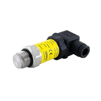 Pure flush pressure sensors